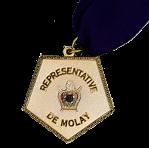 Representative DeMolay Medallion