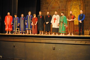 DeMolay Degree Cast in Costume
