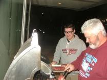 Blake & Jesse at Grill