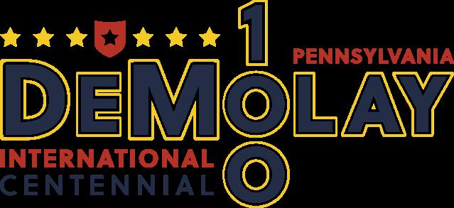 PA DeMolay Centennial Logo.png
